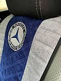 Накидки на авто сидения из алькантары универсальные, фото 3