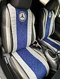 Накидки на авто сидения из алькантары универсальные, фото 5