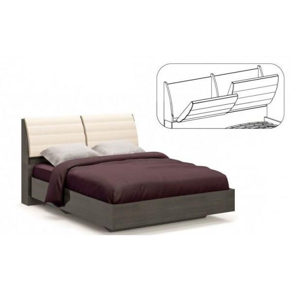 Кровать двуспальная в спальню из ДСП Лондон Мебель Сервис