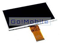 """Дисплей, экран 7.0"""" китайский планшет универсальный Impad 6115 50 pin (800x480) 163*97mm"""