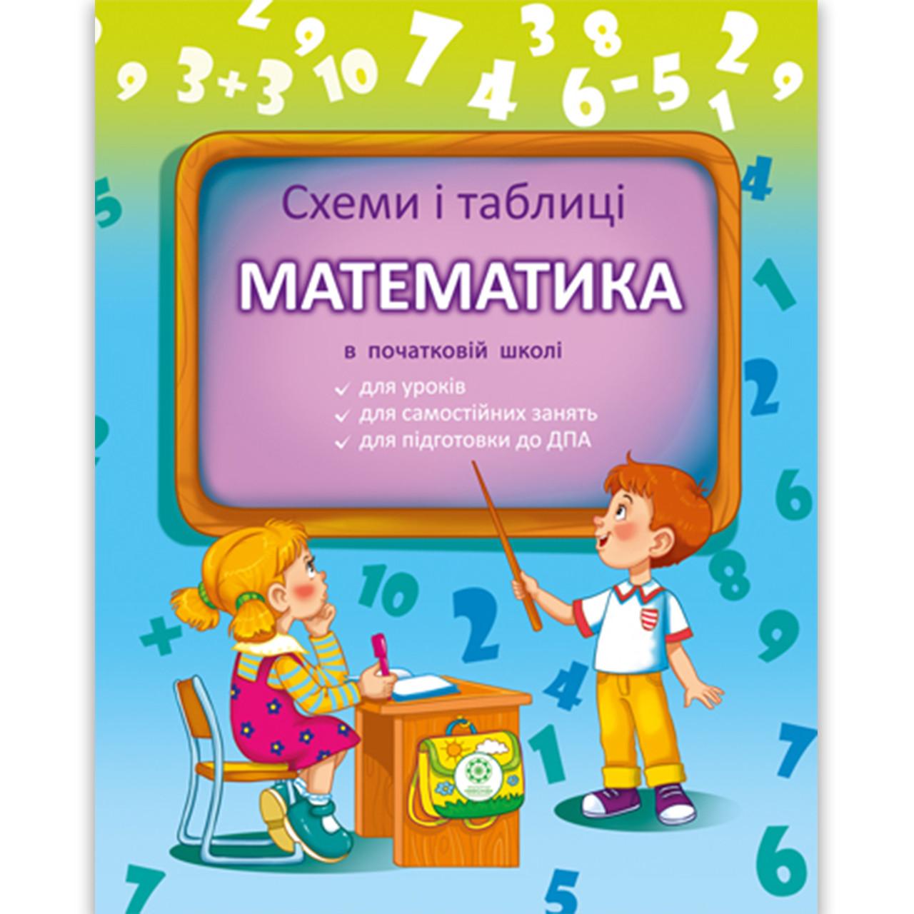 Схеми і таблиці Математика в початковій школі Авт: Листопад Н. Вид: Весна
