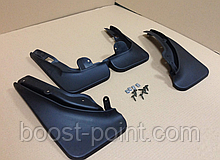 Брызговики пластик, под оригинал Mercedes-benz c-class (w204) (мерседес-бенц/бенз ц 204 2007-2010гг)