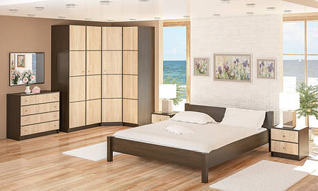 Комод в спальню из ДСП 4Ш Фантазия Мебель Сервис , фото 2