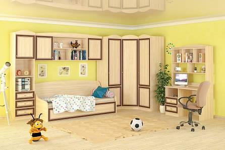 Полка навесная в детскую комнату из ДСП Дисней Мебель Сервис , фото 2