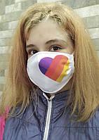 Защитная маска с принтом LIKE