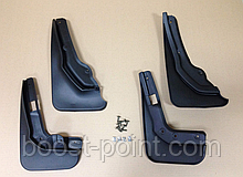 Брызговики пластик, под оригинал Mercedes-benz c-class (w204) (мерседес-бенц/бенз ц 204 2011-2015гг)