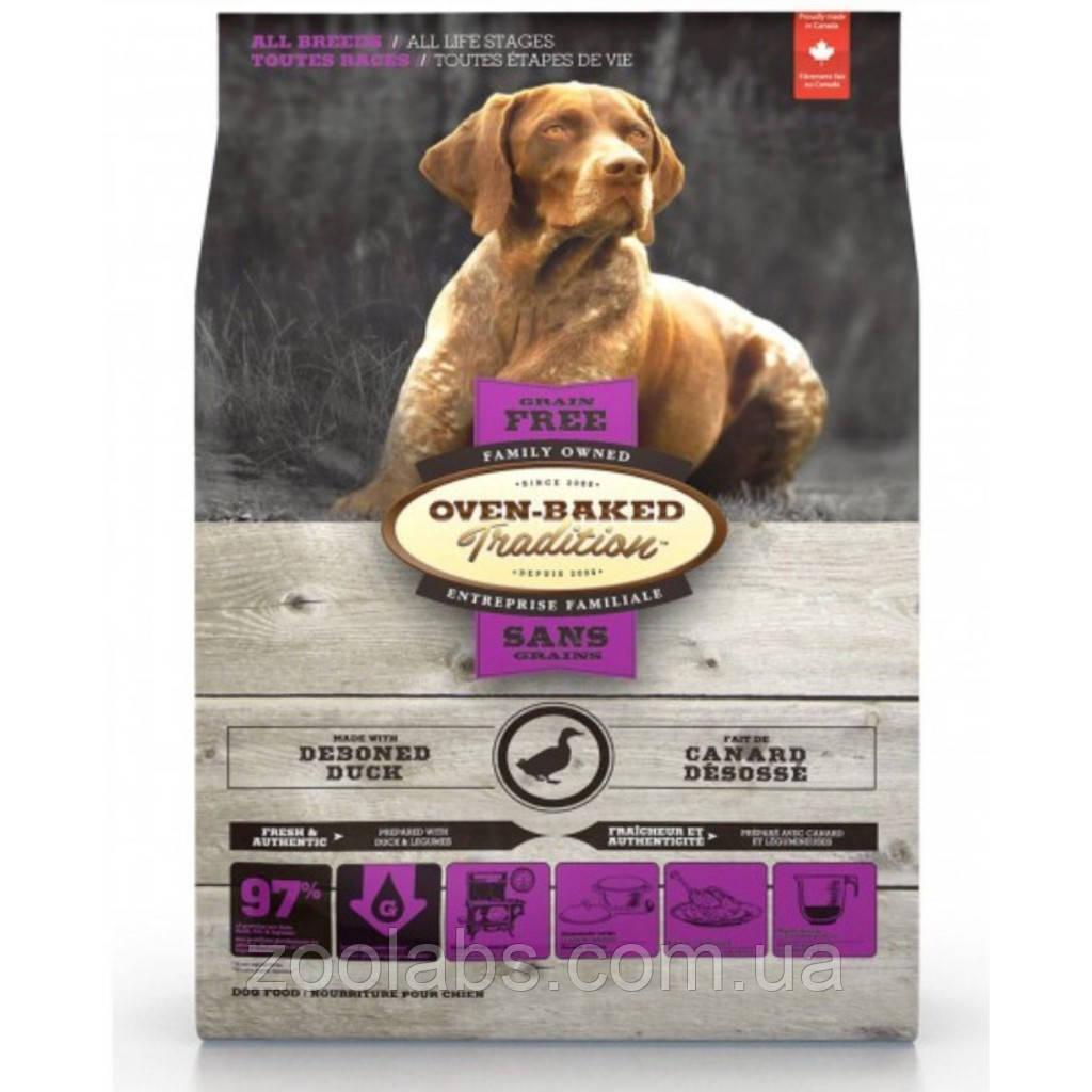 Корм Oven Baked Tradition для собак беззерновой з качкою   Oven Baked Tradition Grain Free Dog Duck 2,27 кг