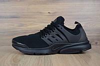 Мужские кроссовки в стиле найк Air Presto Treple Bleack