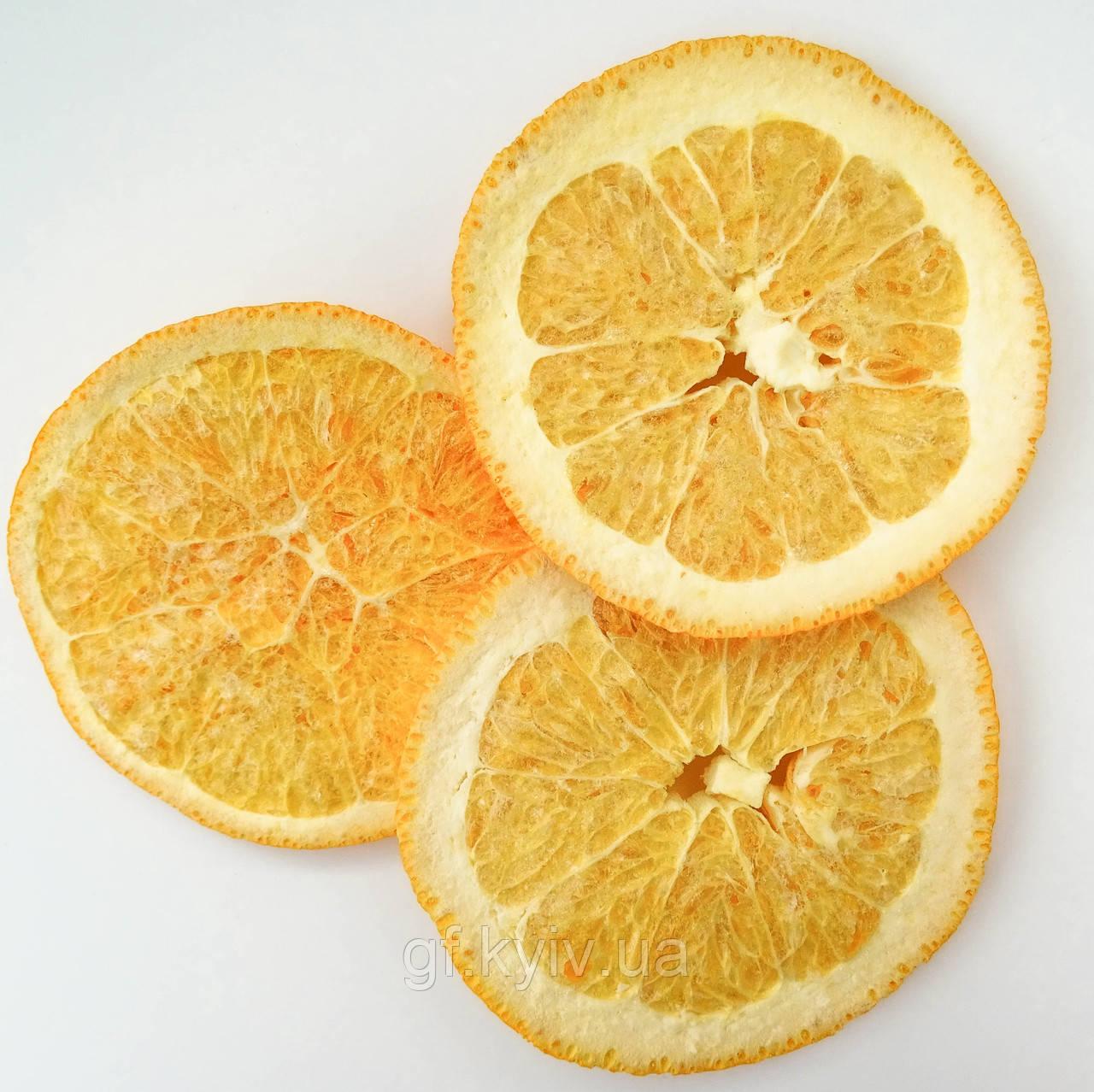 Апельсин слайсами 50г сублимированный натуральный от украинского производителя