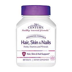 Кожа волосы ногти 21st Century Hair, Skin & Nalis 90caps