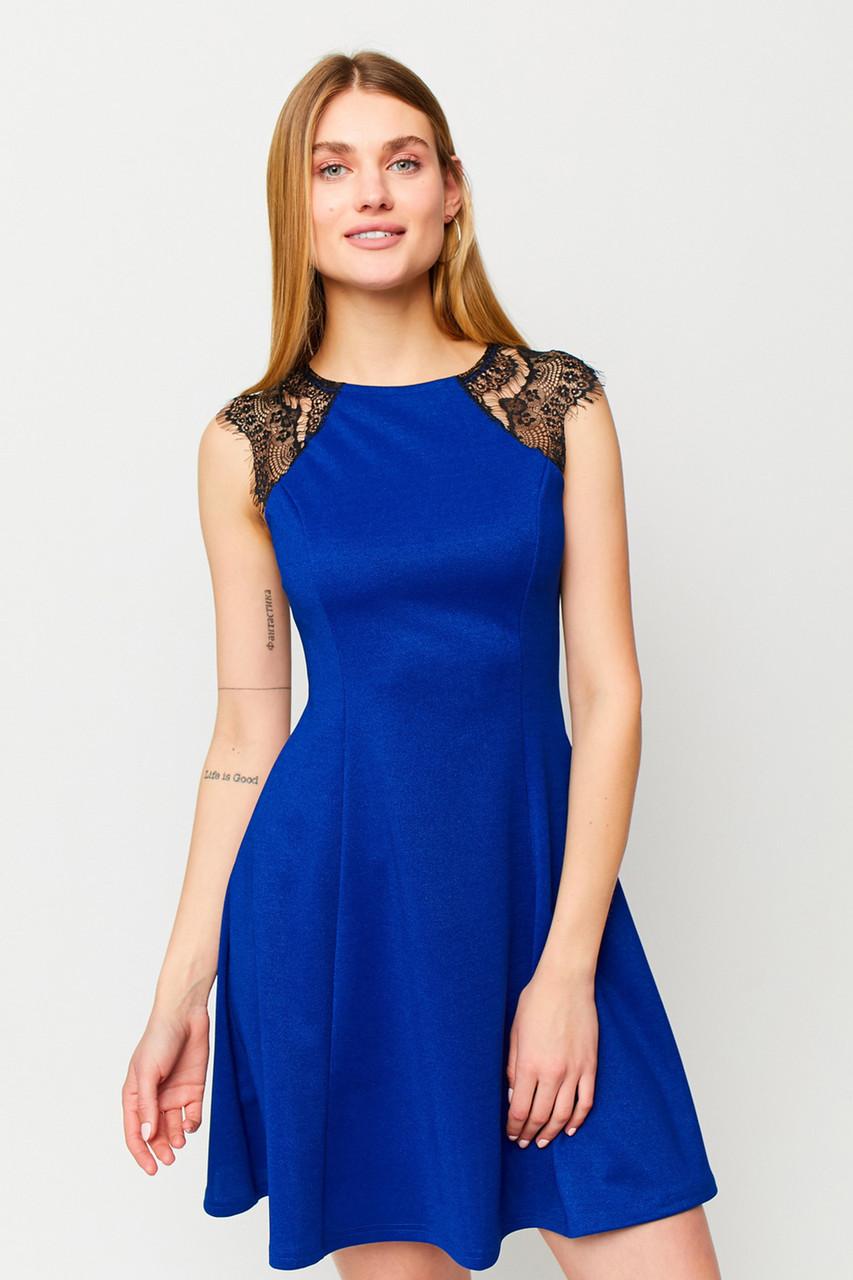S, M, L | Коктейльне жіноче плаття Brut, синій