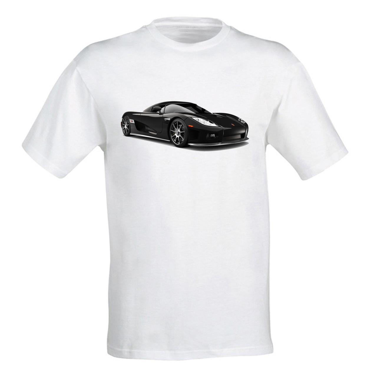 """Мужская футболка с принтом """"Koenigsegg CCXR Trevita"""" Push IT"""