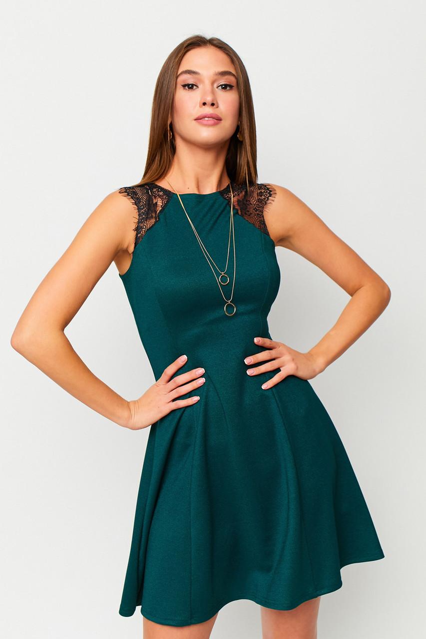 S, L | Коктейльне жіноче плаття Brut, зелений