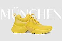 Кросівки жіночі жовтий весна-літо Tamaris