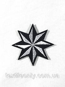 Нашивка Звезда Давида 55х60 мм