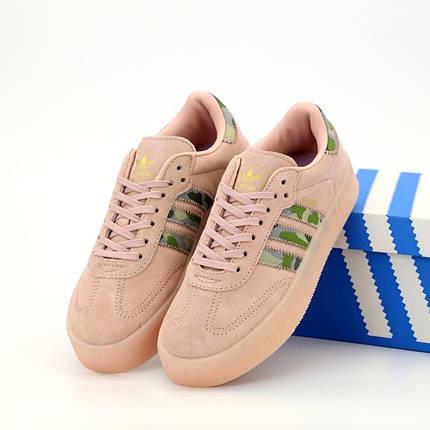 Женские кроссовки в стиле Adidas Samba, фото 2