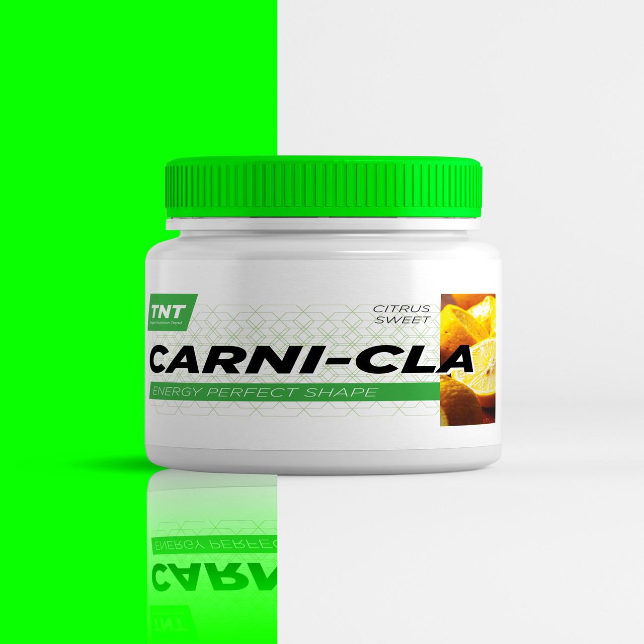 Жиросжигатель л Карнитин CARNI CLA TNT Target Nutrition Trend