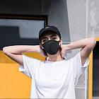 Маска защитная многоразовая однослойная. Многоразовая неопреновая маска для лица, фото 6