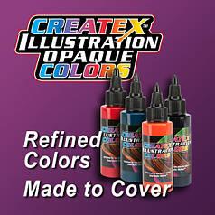Illustration Opaque Colors (Укрывистые краски)