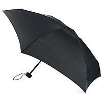 Компактный зонт Zest 20801 черный плоский механика
