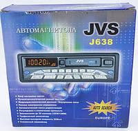 Кассетная автомагнитола, магнитофон, радио AM-FM приемник / 120 W / JVS (j638)