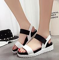 Літні зручні сандалі на платформеЅиммег comfortable sandals, фото 1