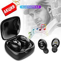 Беспроводные наушники блютуз гарнитура Bluetooth наушники 5.0 Wi-pods XG-12. Черные
