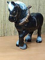 Садовая фигура Конь. декоративная садовая фигура.