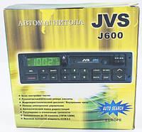 Кассетная автомагнитола, магнитофон, радио AM-FM приемник / 180 W / JVS (j600)