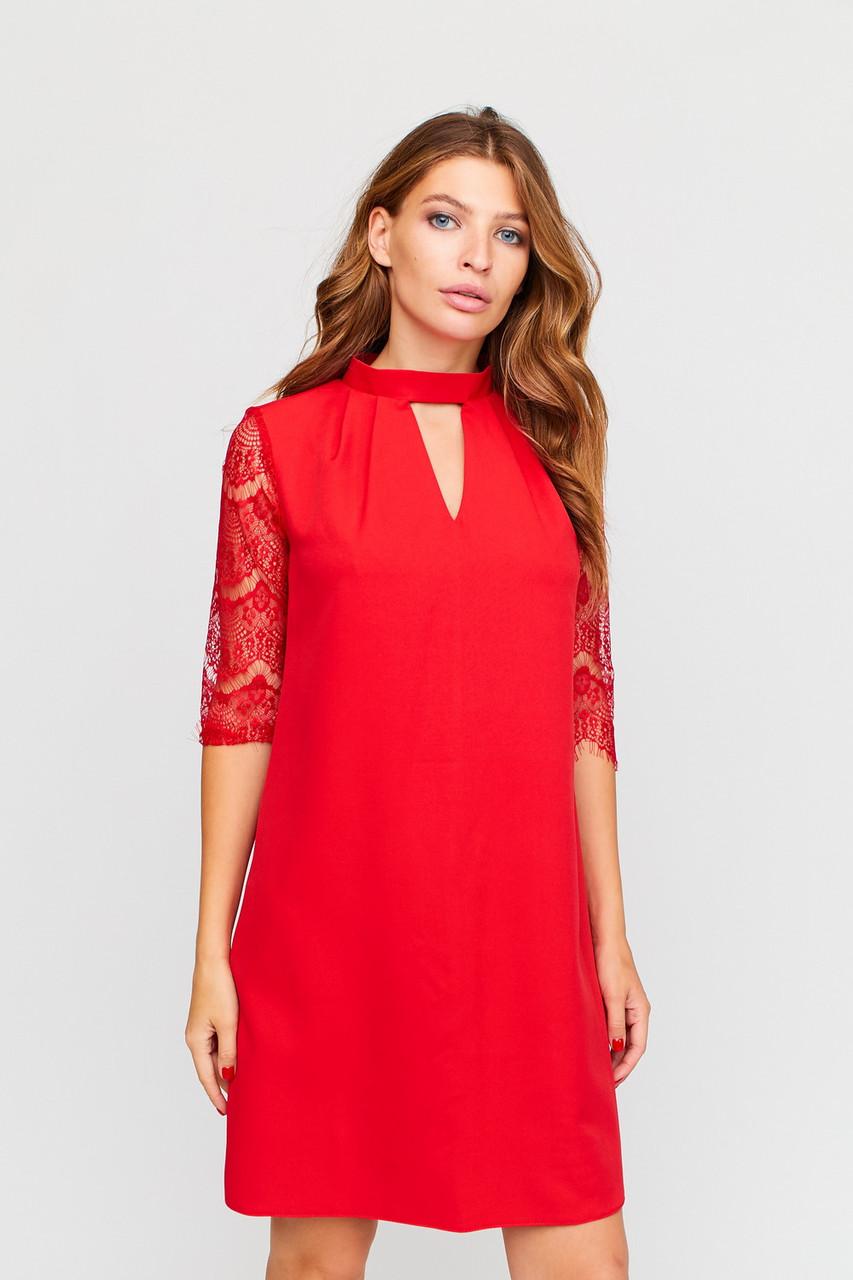 S, M, L | Вишукане вечірнє плаття Kristen, червоний