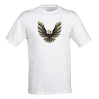 """Чоловіча футболка з принтом """"Pontiac firebird"""" M, Білий Push IT"""