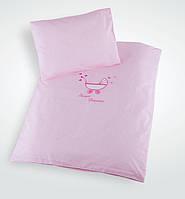 Постельный комплект в коляску Ідея Sweet Dreams (100% хлопок) розовый