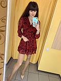 Сукня жіноча L(р) червона 2020-619 Туреччина Весна-C, фото 2