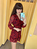 Сукня жіноча L(р) червона 2020-619 Туреччина Весна-C, фото 3