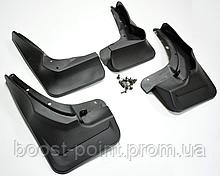 Брызговики пластик, под оригинал AMG пакет без порога Mercedes-benz ml-class w166 (мерседес-бенз мл-166) 2011+
