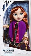 Большая Кукла Анна Холодное сердце 2 Путешествие Анны рост 35 см Disney Frozen 2 Anna Travel, фото 1
