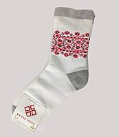 Шкарпетки жіночі з українським орнаментом теплі