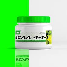 BCAA 4:1:1 аминокислоты для похудения, роста и восстановления мышц TNT Target Nutrition Trend (сочное яблоко)