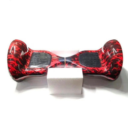 """Гироскутер Smart Balance Elite Lux 10.0"""" подсветка колес красный огонь, фото 2"""