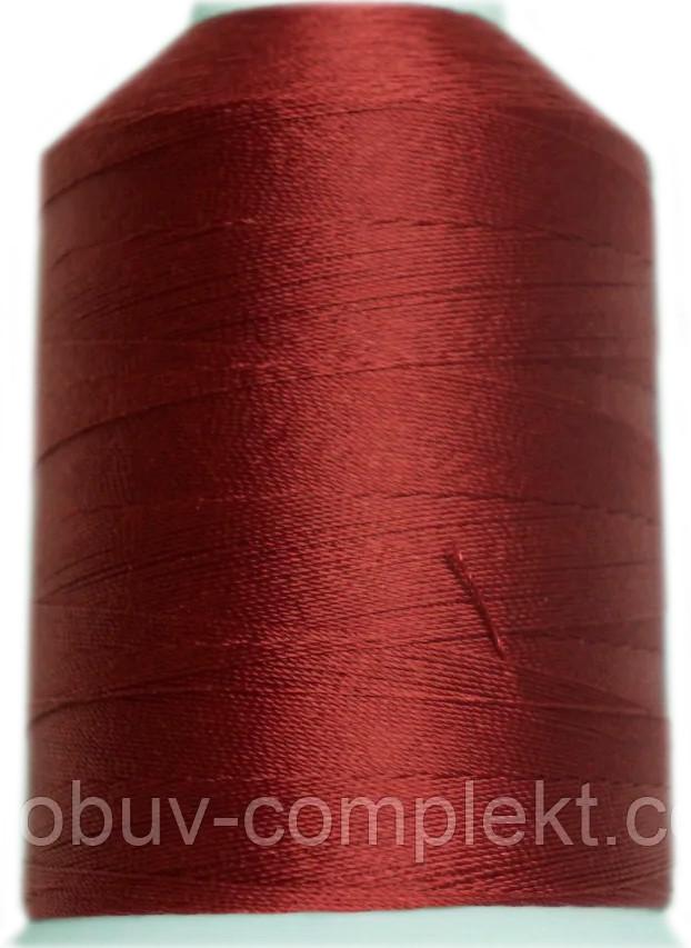 Нить Титан №20 2000 м. Польша цвет (2620) бордовий