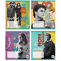 Тетрадь школьная А5 Kite Harry Potter 24 листа в линию (HP20-239)