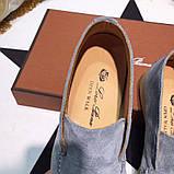 Лоферы замшевые от Лоро Пиано 35-45 р, кожаная реплика, фото 5
