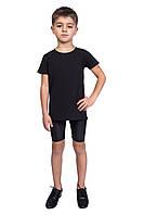 Велотреки для мальчика Dance&Sport N 004-1 бифлекс Черные