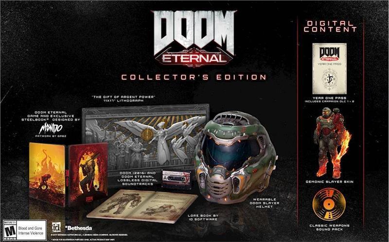 Гра DOOM ETERNAL Колекційне видання (PlayStation)