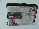 """Постельный комплект """"Лондон Ретро"""", двуспальный евро , наволочки 50*70, бязь, фото 4"""