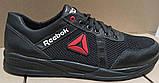 Баталы! Reebok летние черные с белым мужские кроссовки большого размера сетка! Супер Новинка!, фото 6