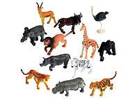 """Набор реалистичных животных """"Дикие джунгли""""  от Learning Resources (12 шт)"""