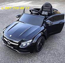 Детский электромобиль  M 4010EBLR-2  Mercedes С 63 AMG   черный