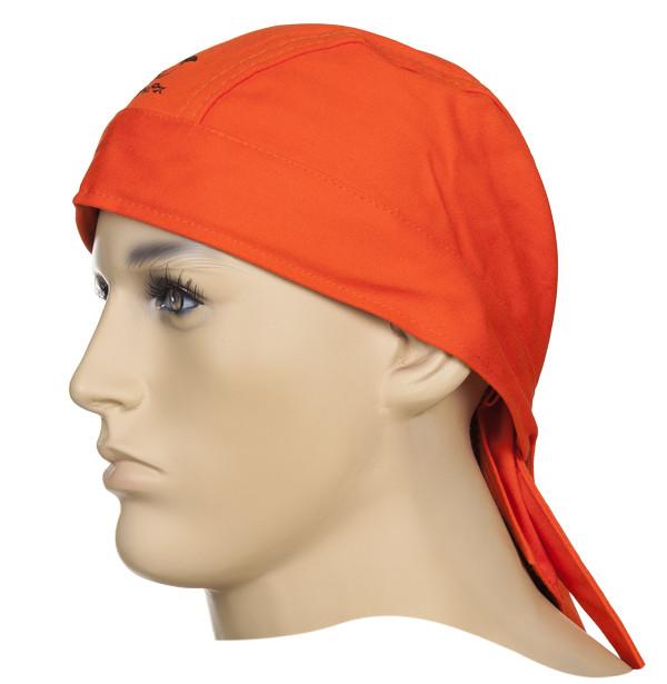 Бандана (хустинка) зварювальника бавовняна WELDAS FIRE FOX помаранчева