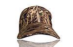 Бейсболка камуфляжная для рыбаков и охотников мембранная, фото 2